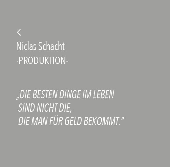 Niclas Schacht Spruch